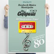 Diseño de cartel The Gafapastas