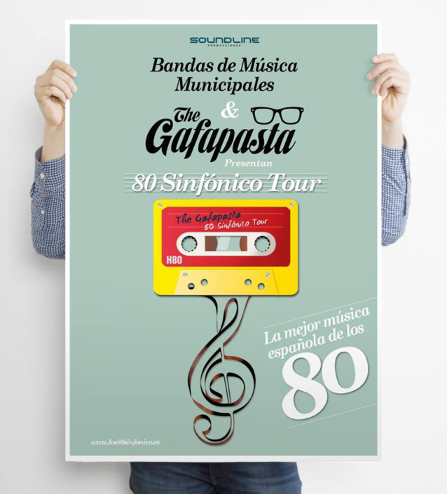 Diseño de cartel The Gafapastas