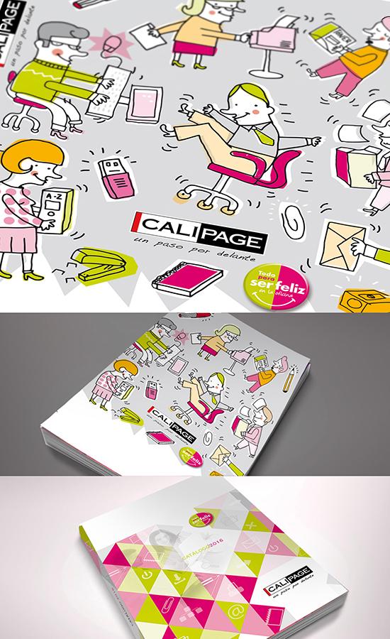 Diseño catálogo Calipage