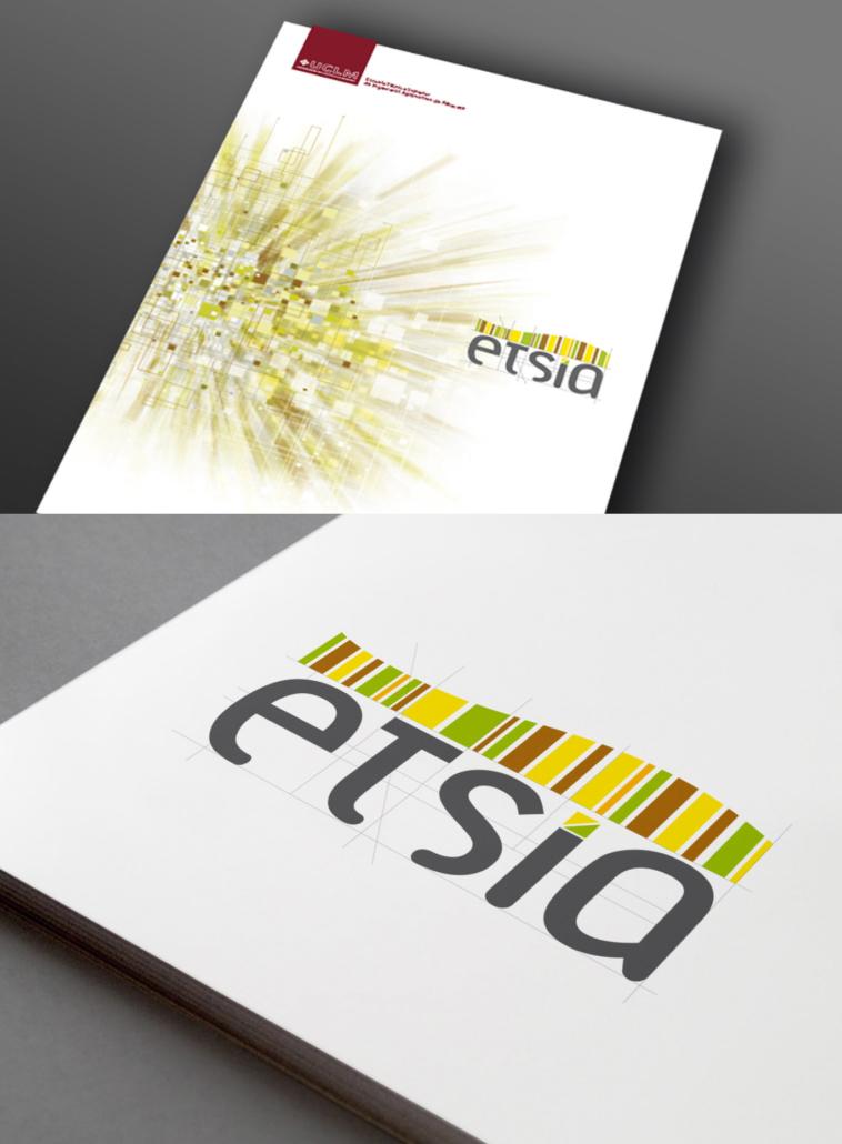 Diseño de logotipo e identidad visual para la Etsia (uclm)