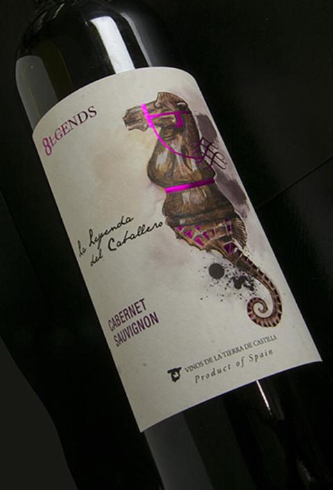 Diseño etiquetas de vino