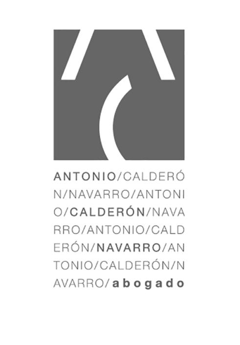 Diseño de logotipo para Antonio Calderón Abogados