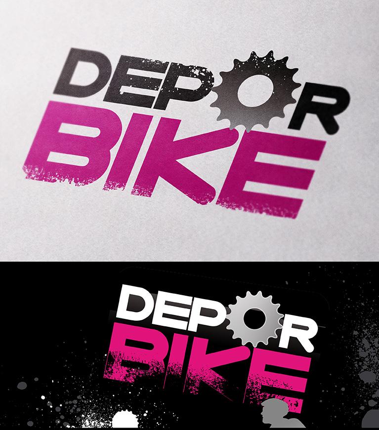 Diseño de logotipo para Depor Bike