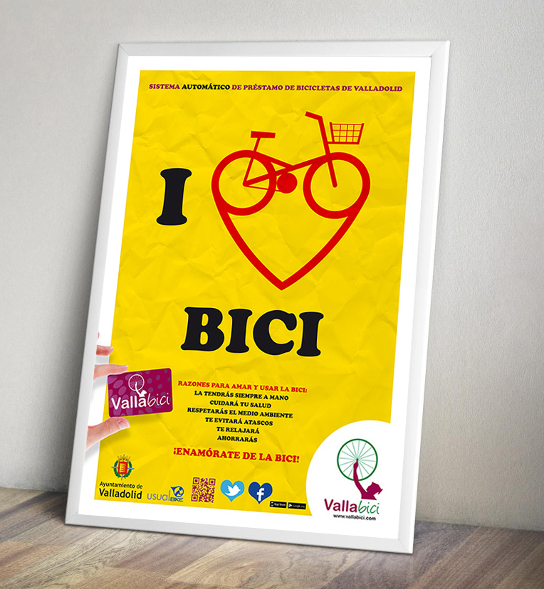 Campaña uso bicicleta
