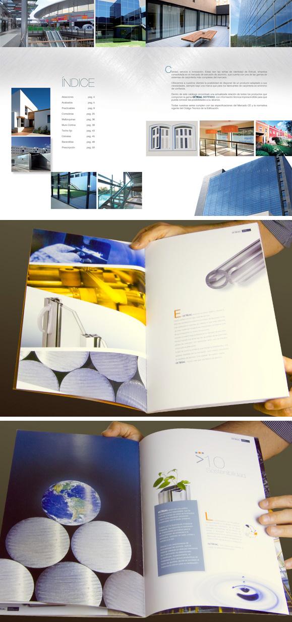 diseño y composición de catálogos