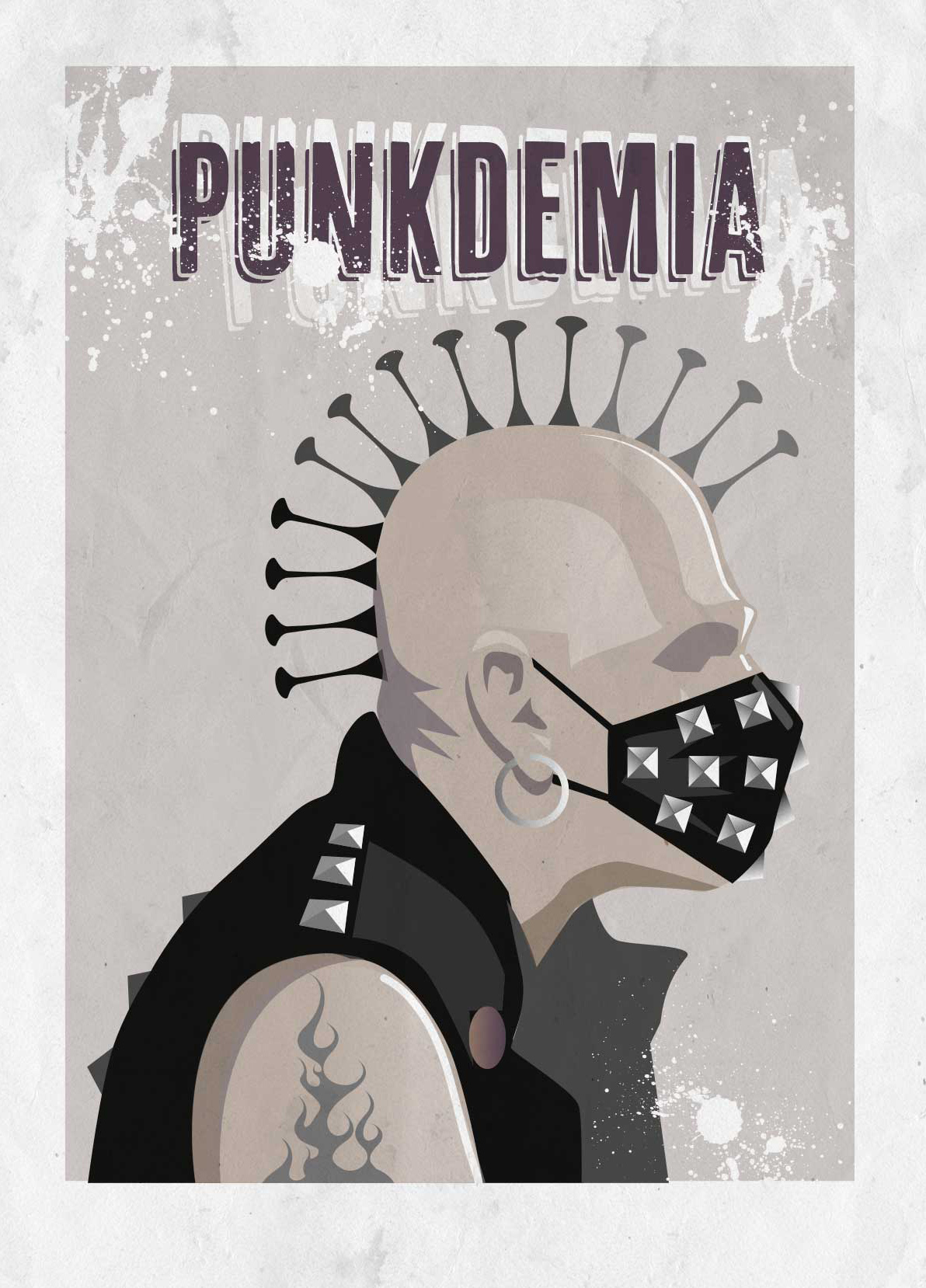 Ilustración Punk
