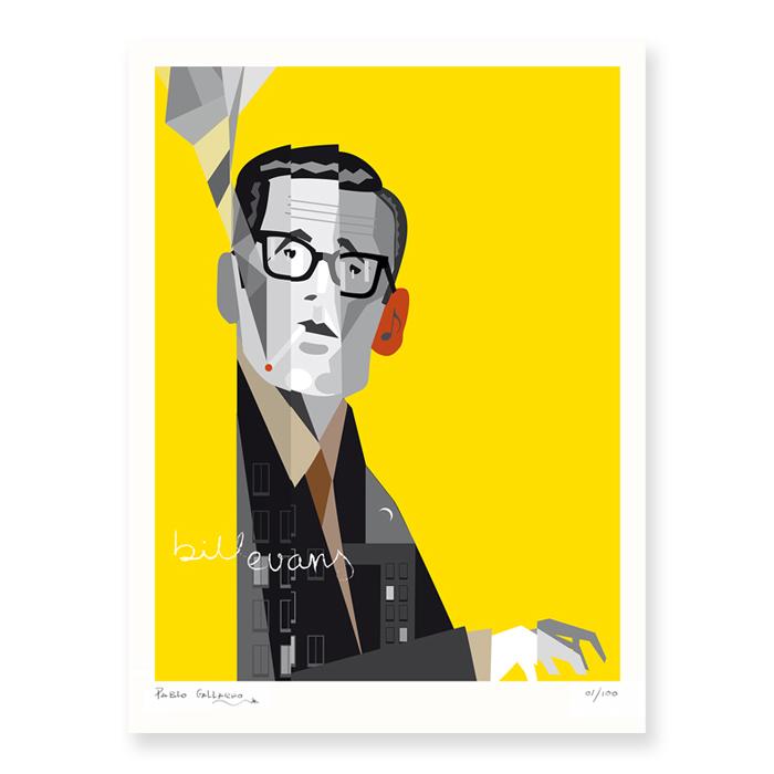 Retrato de Bil Evans