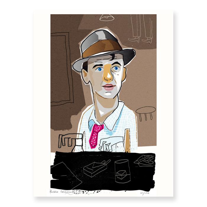 Retrato de Frank Sinatra