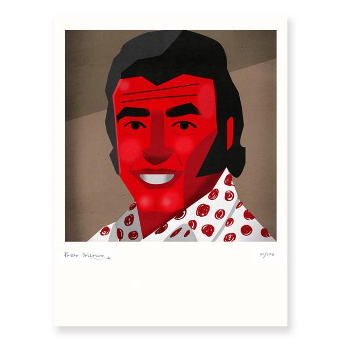 Retrato de Peret
