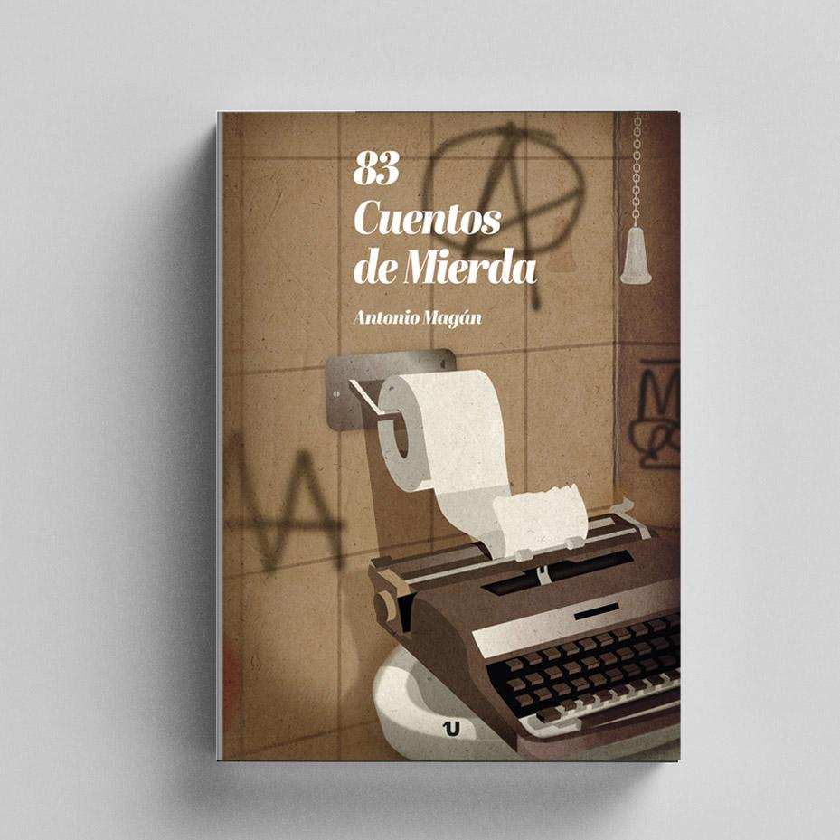Diseño de portada libro Antonio Magán